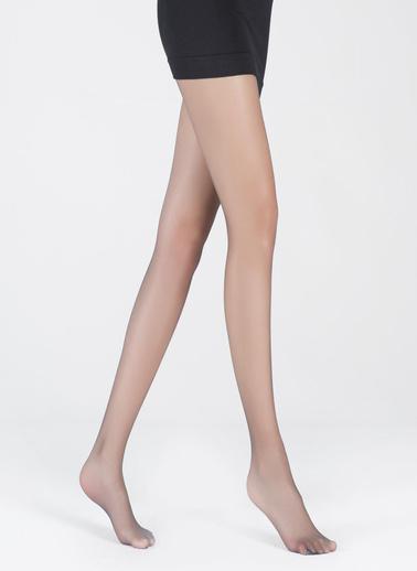 Katia & Bony 8 Denye Kadın Basic Külotlu Çorap  Antrasit